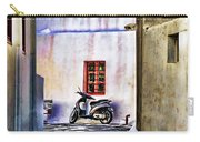 Scooter Mykonos Greece Carry-all Pouch