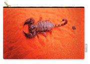 Scorpion Red Sand Sting Insect Carry-all Pouch
