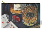 Scotch And Cigars 4 Carry-all Pouch by Debbie DeWitt