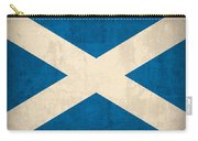 Scotland Flag Vintage Distressed Finish Carry-all Pouch by Design Turnpike