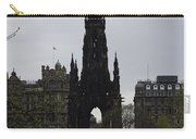 Scott Monument Inside The Princes Street Gardens In Edinburgh Carry-all Pouch