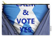 Scottish Businessman Votes Yes Carry-all Pouch