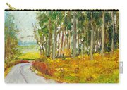 Scottish Forest In Spring Carry-all Pouch