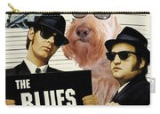Scottish Terrier Art Canvas Print - The Blues Brothers Movie Poster Carry-all Pouch by Sandra Sij