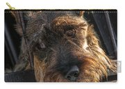 Scottish Terrier Closeup Carry-all Pouch