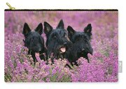 Scottish Terrier Dogs Carry-all Pouch