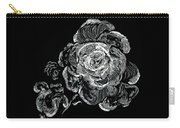 Scratched Rose Carry-all Pouch