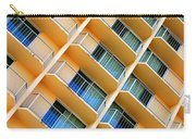 Scratchy Hotel Facade Carry-all Pouch