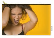Screaming Girl Carry-all Pouch