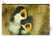 Screaming Hungry Carry-all Pouch by Christina Rollo