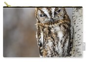 Screech Owl Checking You Out Carry-all Pouch