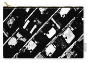 Screwed Metal Tab Abstract Carry-all Pouch
