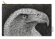 Scribble Eagle Carry-all Pouch