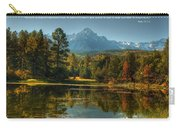 Scripture And Picture Psalm 23 Carry-all Pouch