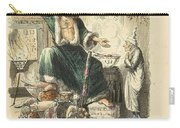 Scrooges Third Visitor Carry-all Pouch by Philip Ralley