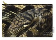 Scrub Python Abstraction Carry-all Pouch