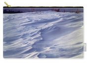 1m9347-sculptured Snow And Grand Teton Carry-all Pouch