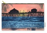 Sd Dock At Sunset Carry-all Pouch