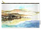 Sea And Mountains Carry-all Pouch
