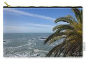 Sea And Palm Tree Carry-all Pouch
