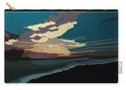 Sea And Sky In Colour Carry-all Pouch