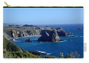 Sea Coast Of Northern California Carry-all Pouch