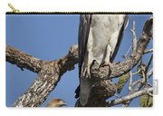 Sea Eagle And Brown Kite Sharing A Tree Carry-all Pouch