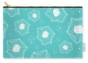 Sea Flower Carry-all Pouch by Susan Claire