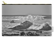 Sea Foam Bw Carry-all Pouch