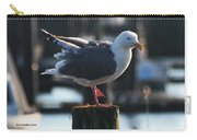 Sea Gull On Break Carry-all Pouch