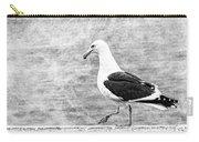 Sea Gull On Wharf Patrol Carry-all Pouch