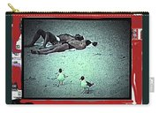 Sea Gulls And Sunbathers Collage Coney Island New York City 1977-2013 Carry-all Pouch