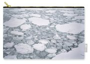 Sea Ice Pancake Ice Forming Antarctica Carry-all Pouch
