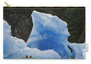 Sea Kayaking With Icebergs Tracy Arm Carry-all Pouch