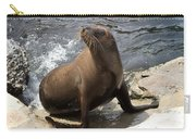 Sea Lion Photo Print Carry-all Pouch