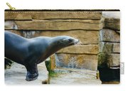 Sea Lion Side View Carry-all Pouch