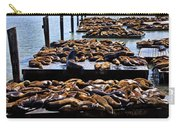 Sea Lions At Pier 39  Carry-all Pouch