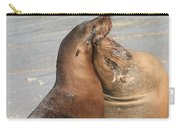 Sea Lions In Love Carry-all Pouch