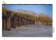 Sea Oats And Pilings Carry-all Pouch