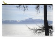 Sea Of Fog And A Tree Carry-all Pouch