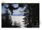 Sea Of Fog Over An Alpine Lake Carry-all Pouch