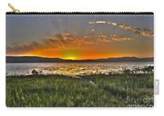 Sea Of Galilee Sunset Carry-all Pouch