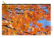 Sea Of Orange And Blue Carry-all Pouch