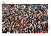 Sea Of People Carry-all Pouch by Glenn McCarthy Art and Photography
