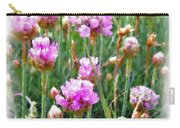 Sea Pinks Carry-all Pouch