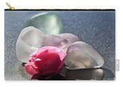 Sea Rose Carry-all Pouch by Barbara McMahon