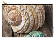 Sea Shells With Urchin  Carry-all Pouch