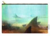 Sea Spirits - Manta Ray Art By Sharon Cummings Carry-all Pouch by Sharon Cummings