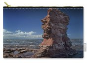 Sea Stack At North Cape On Prince Edward Island Carry-all Pouch