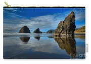 Sea Stack Blues Carry-all Pouch by Adam Jewell